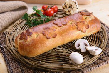 постный пирог с картошкой и грибами