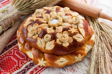 Хлеб каравай Свадебный